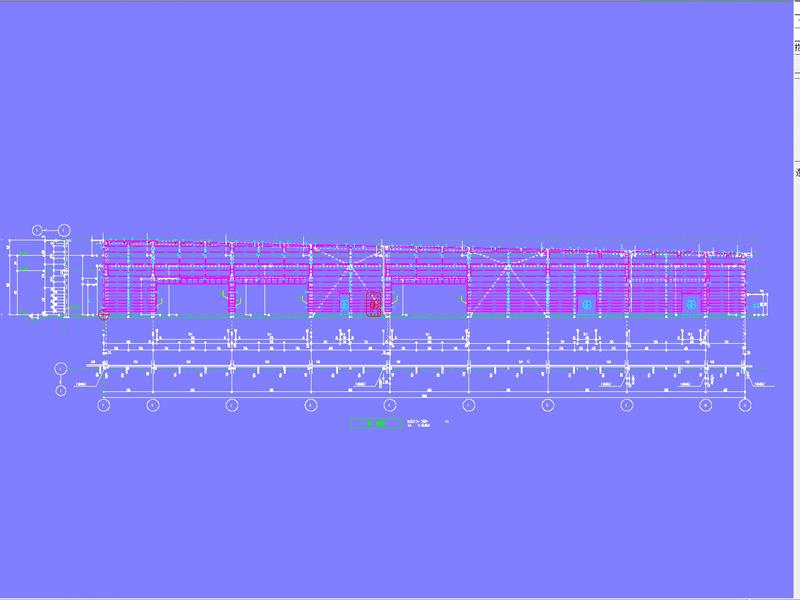胴縁割付図-DXデータ